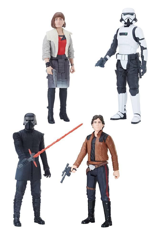 Star Wars Hero Series Action Figures 30 cm 2018 Wave 1 Assortment (8)