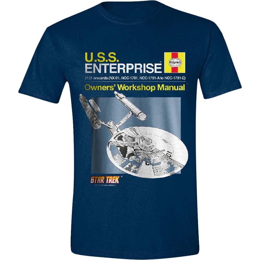 Star Trek  T-Shirt Haynes Enterprise  Size M