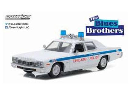 Blues Brothers Diecast Model 1/24 1975 Dodge Monaco