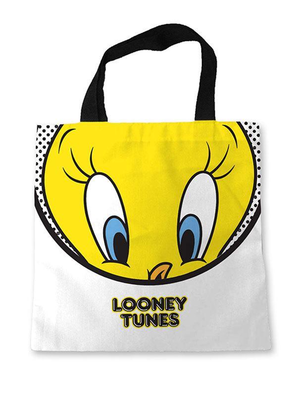 Looney Tunes Sublimated Tote Bag Tweety Circle