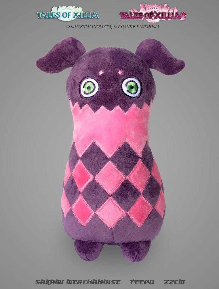 Tales of Xillia Plush Figure Teepo 22 cm