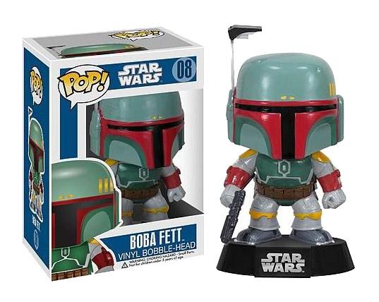 Star Wars POP! Vinyl Bobble-Head Boba Fett 10 cm