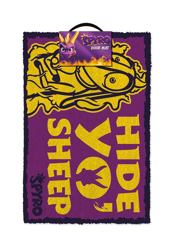 Spyro the Dragon Doormat Hide Yo Sheep 40 x 60 cm