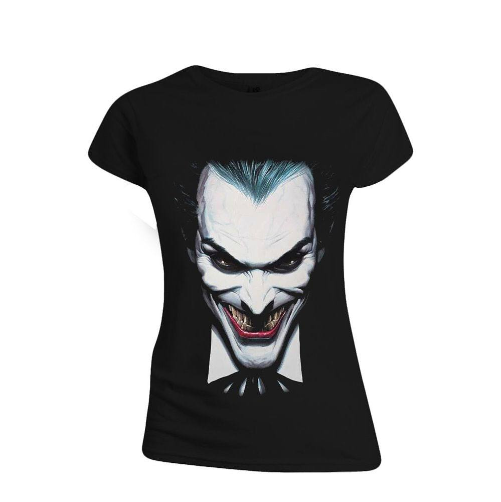 Batman Ladies T-Shirt Alex Ross Joker Size M