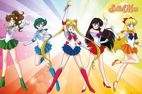Sailor Moon Poster Pack Rainbow 61 x 91 cm (5)