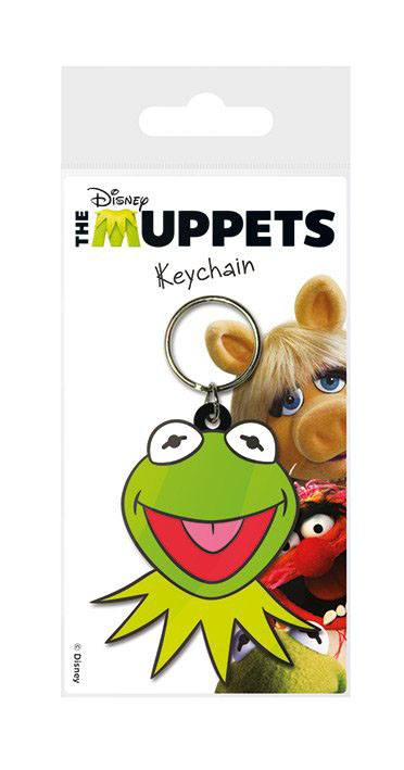 The Muppets Rubber Keychain Kermit 6 cm