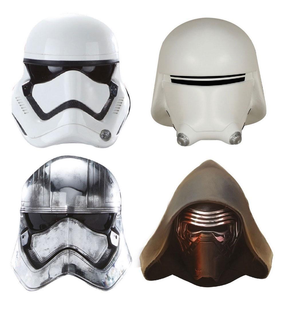 Star Wars Fridge Magnets Captain Phasma, Kylo Ren, Stormtrooper, Snowtrooper