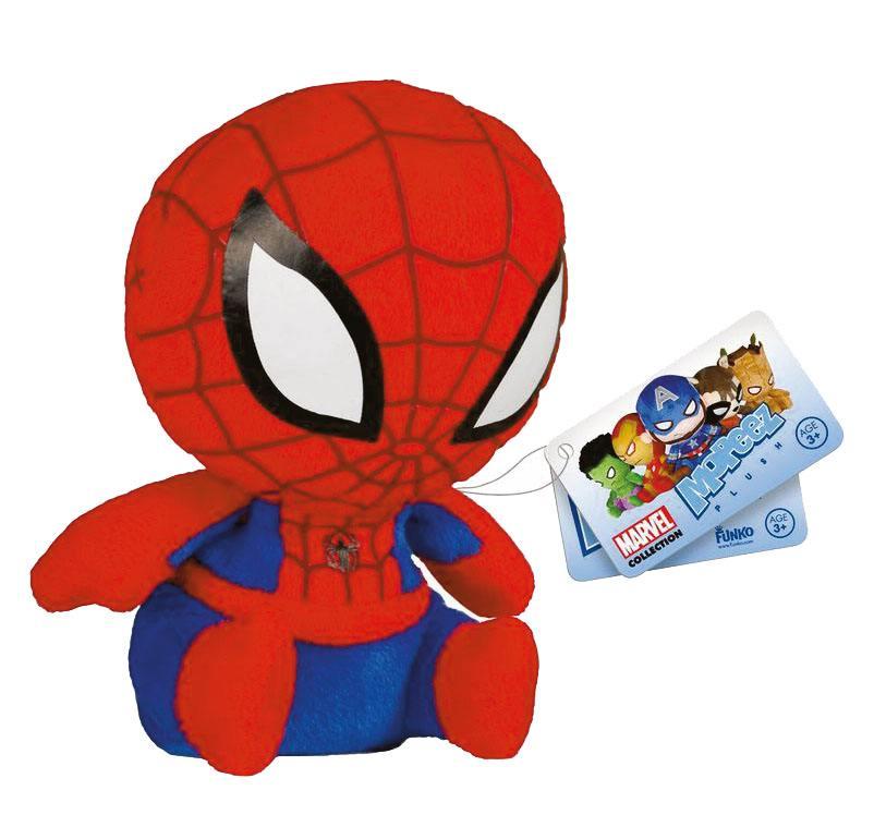 Marvel Mopeez Plush Figure Spider-Man 12 cm