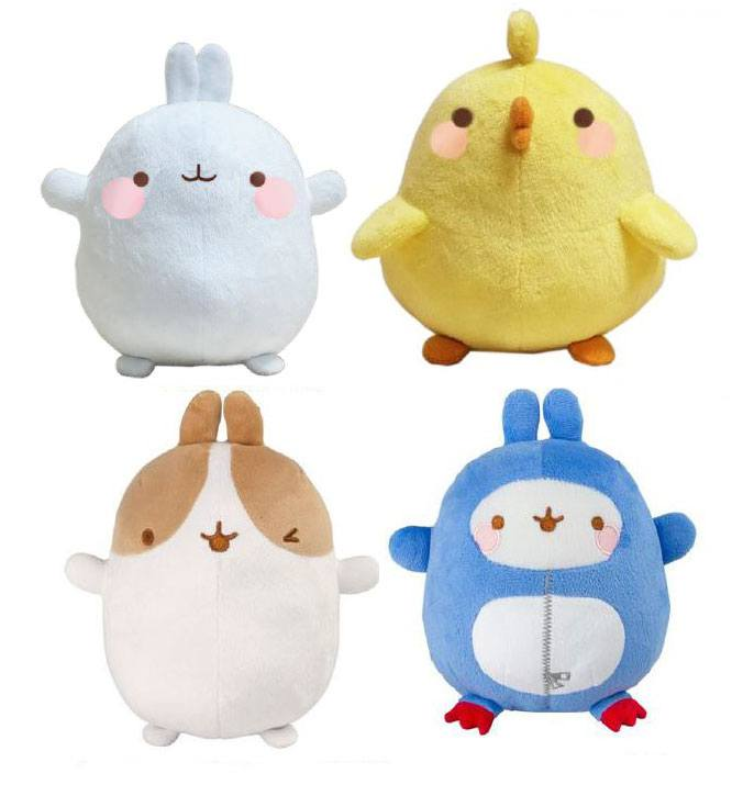 Molang Plush Figures 20 cm Assortment A1 (4)