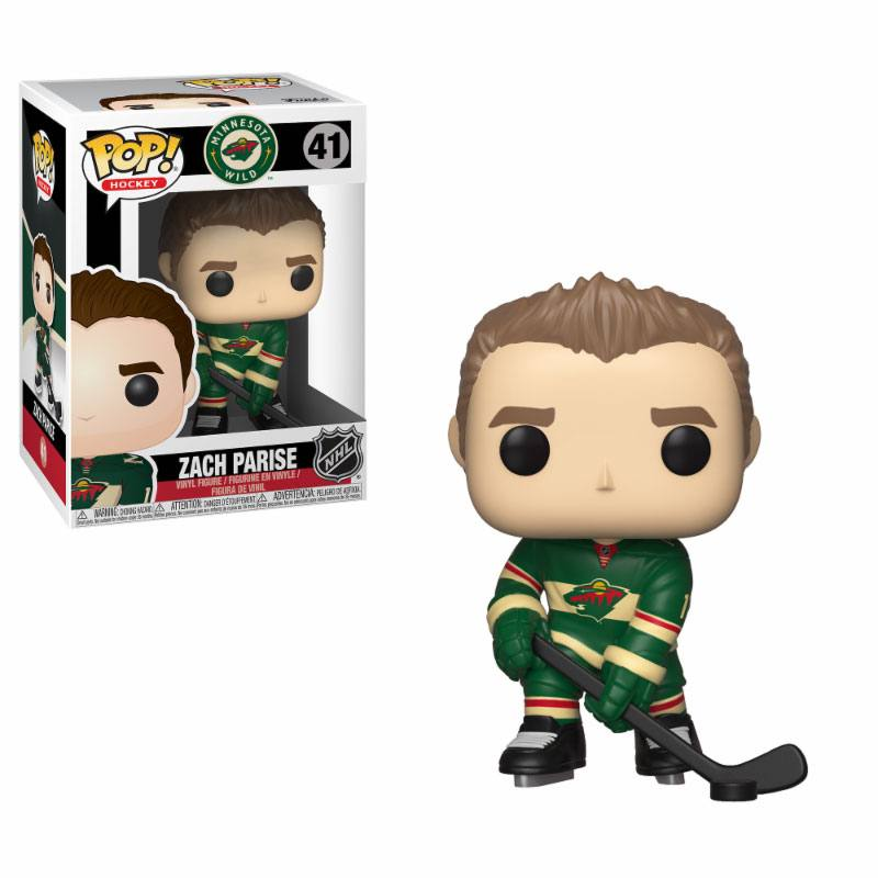 NHL POP! Hockey Vinyl Figure Zach Parise (Wild) 9 cm
