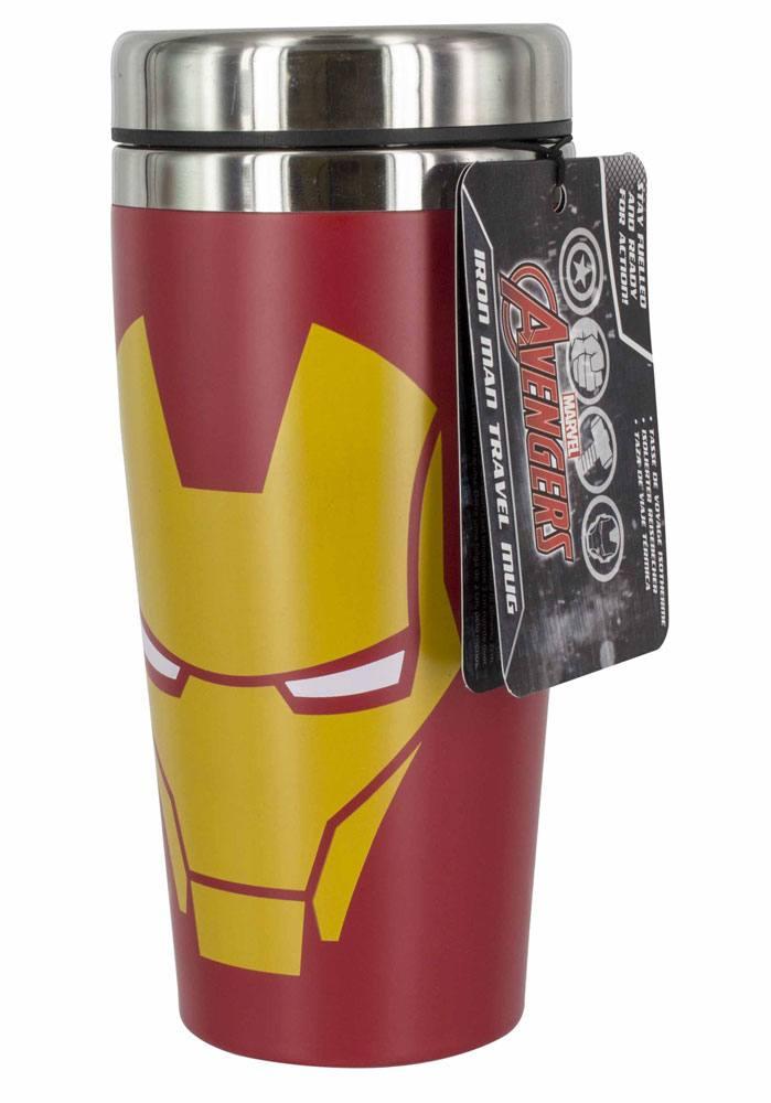 Marvel Comics Travel Mug Iron Man Face