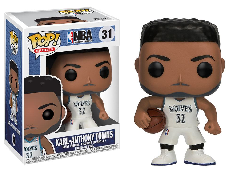 NBA POP! Sports Vinyl Figure Karl-Anthony Towns (Minnesota Timberwolves) 9 cm