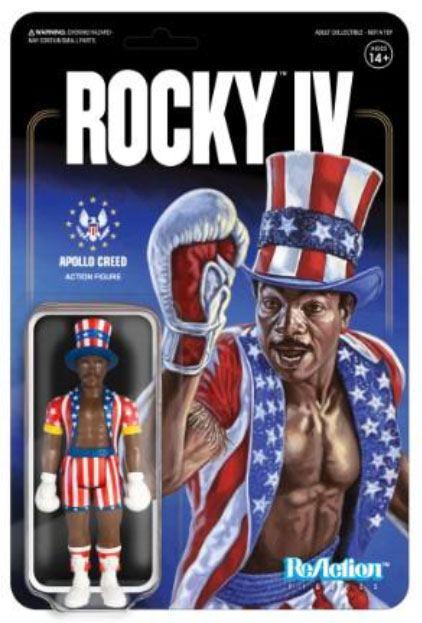 Rocky 4 ReAction Action Figure Apollo Creed 10 cm