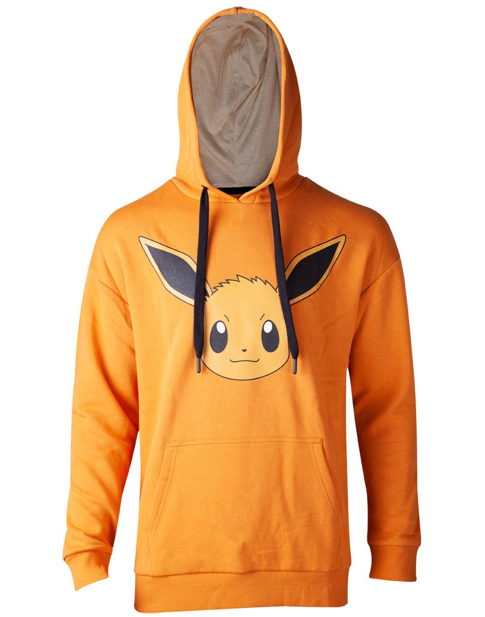 Pokémon Ladies Hooded Sweater Eevee Brushed Size M