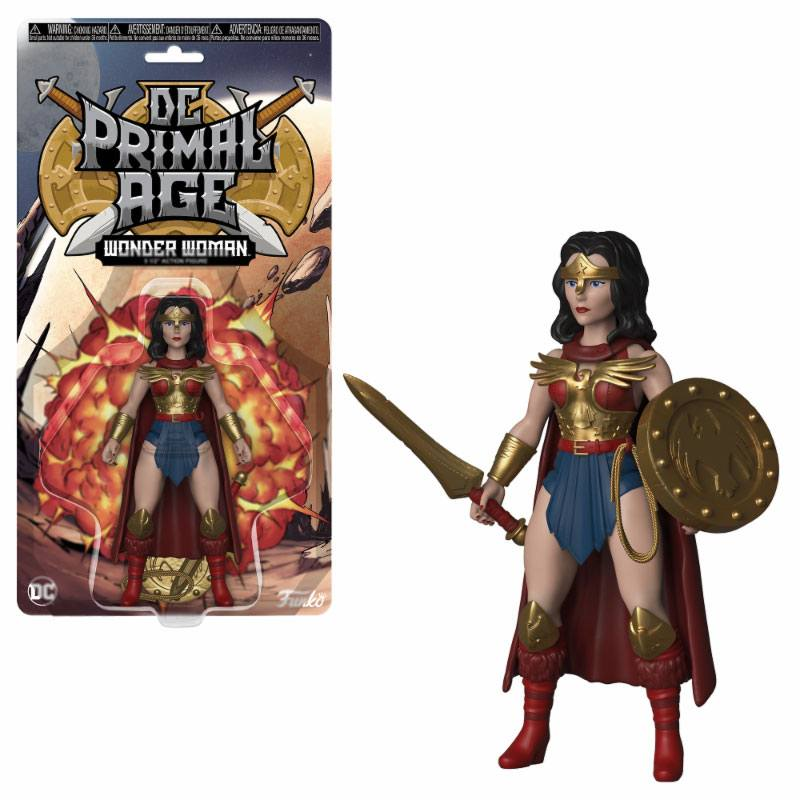 DC Primal Age Action Figure Wonder Woman 13 cm