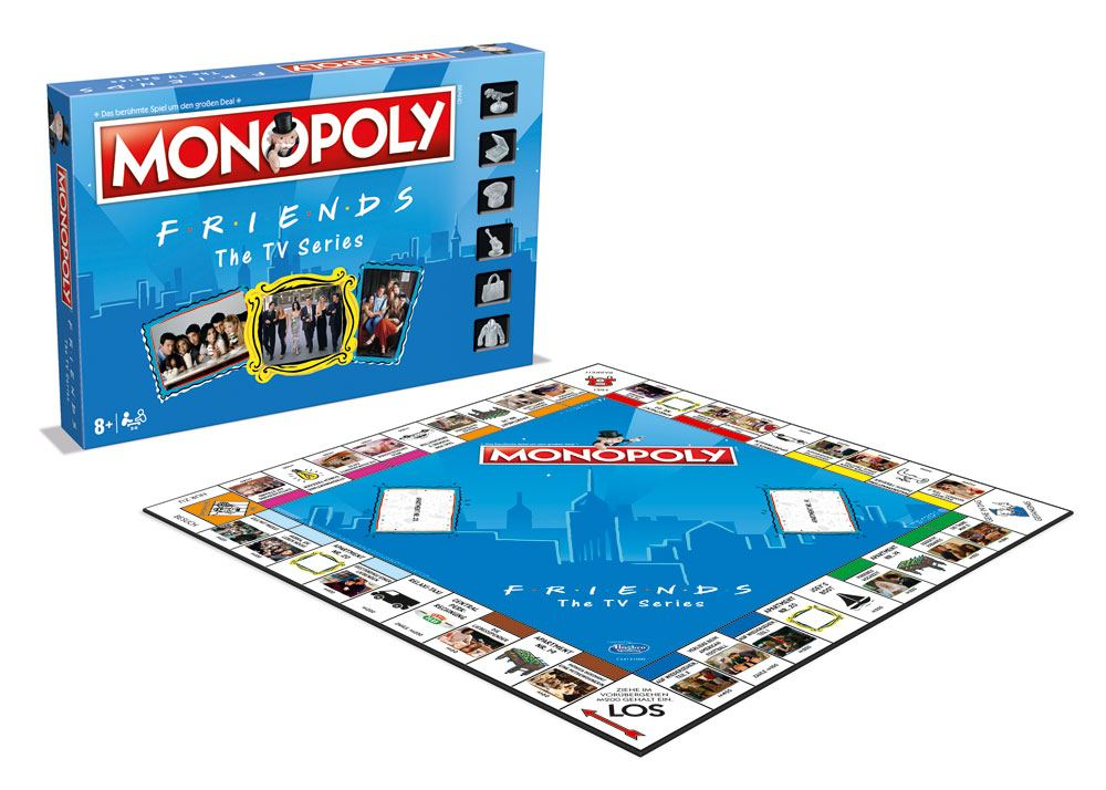 Friends Board Game Monopoly *German Version*