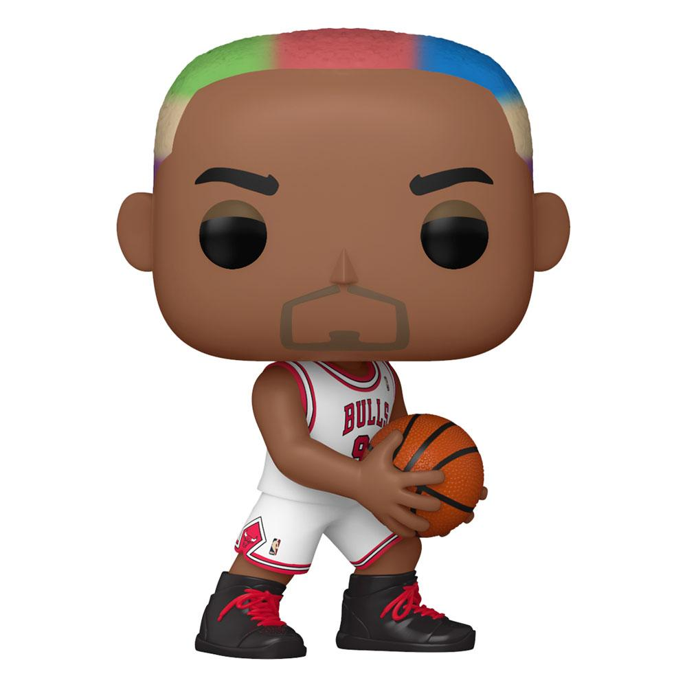 NBA Legends POP! Sports Vinyl Figure Dennis Rodman (Bulls Home) 9 cm