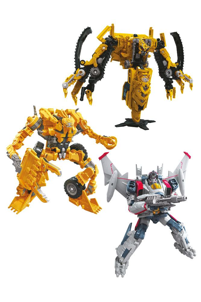 Transformers Studio Series Voyager Class Action Figures 2020 Wave 3 Assortment (3)