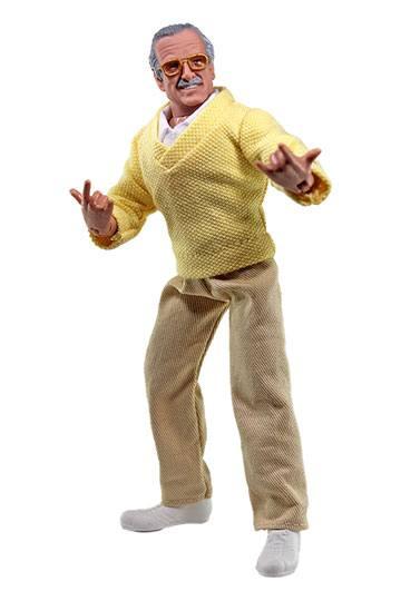 Stan Lee Action Figure Stan Lee with Web Hands 20 cm