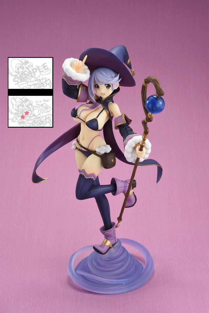 Bikini Warriors PVC Statue 1/7 Mage Limited Edition 23 cm --- DAMAGED PACKAGING