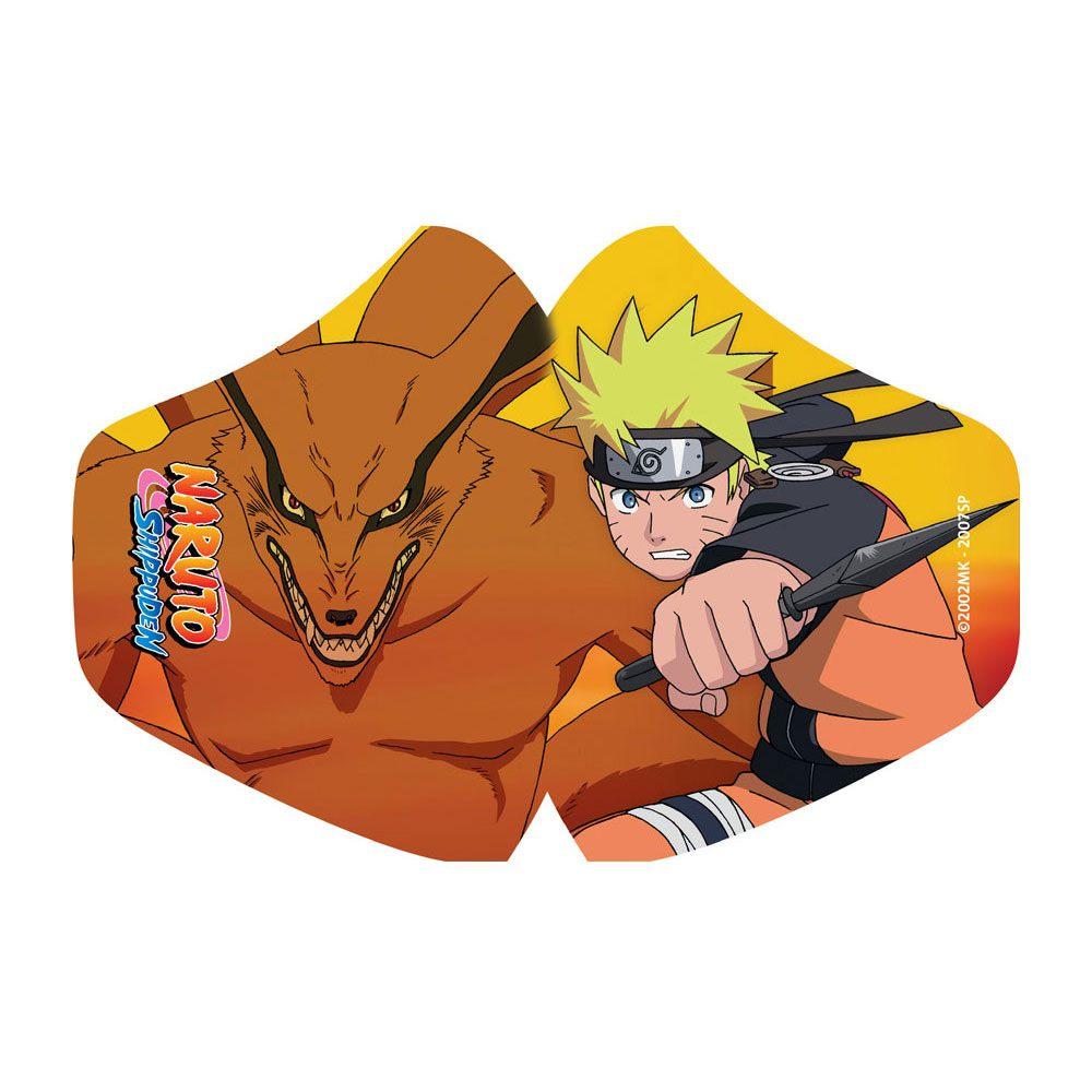POPbuddies Naruto Face Mask Naruto & Kurama