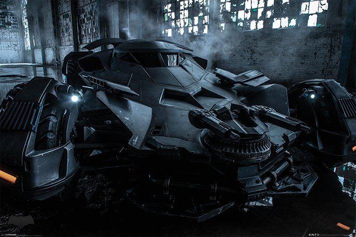 Batman v Superman Poster Pack Batmobile 61 x 91 cm (5)