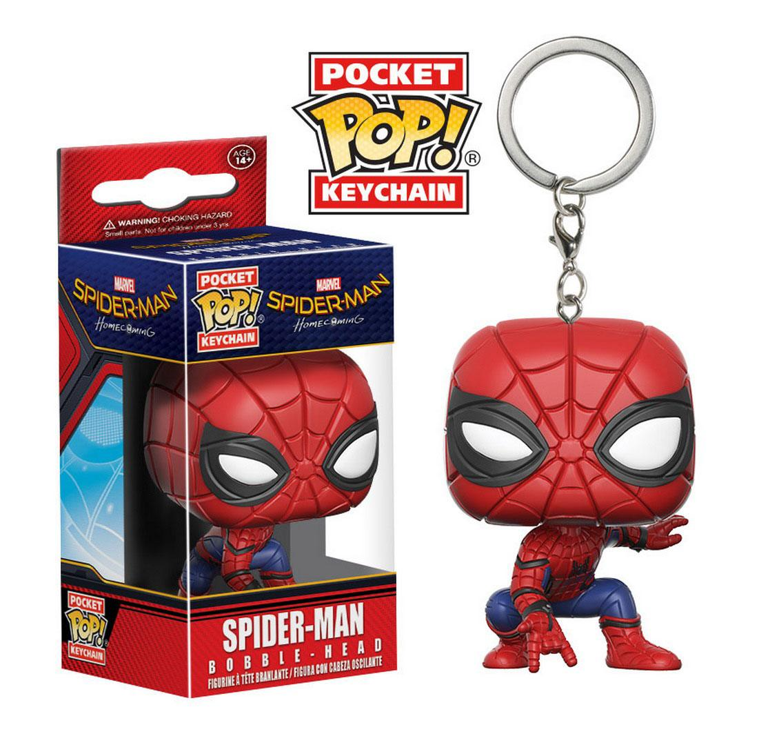 Spider-Man Homecoming Pocket POP! Vinyl Keychain Spider-Man 4 cm