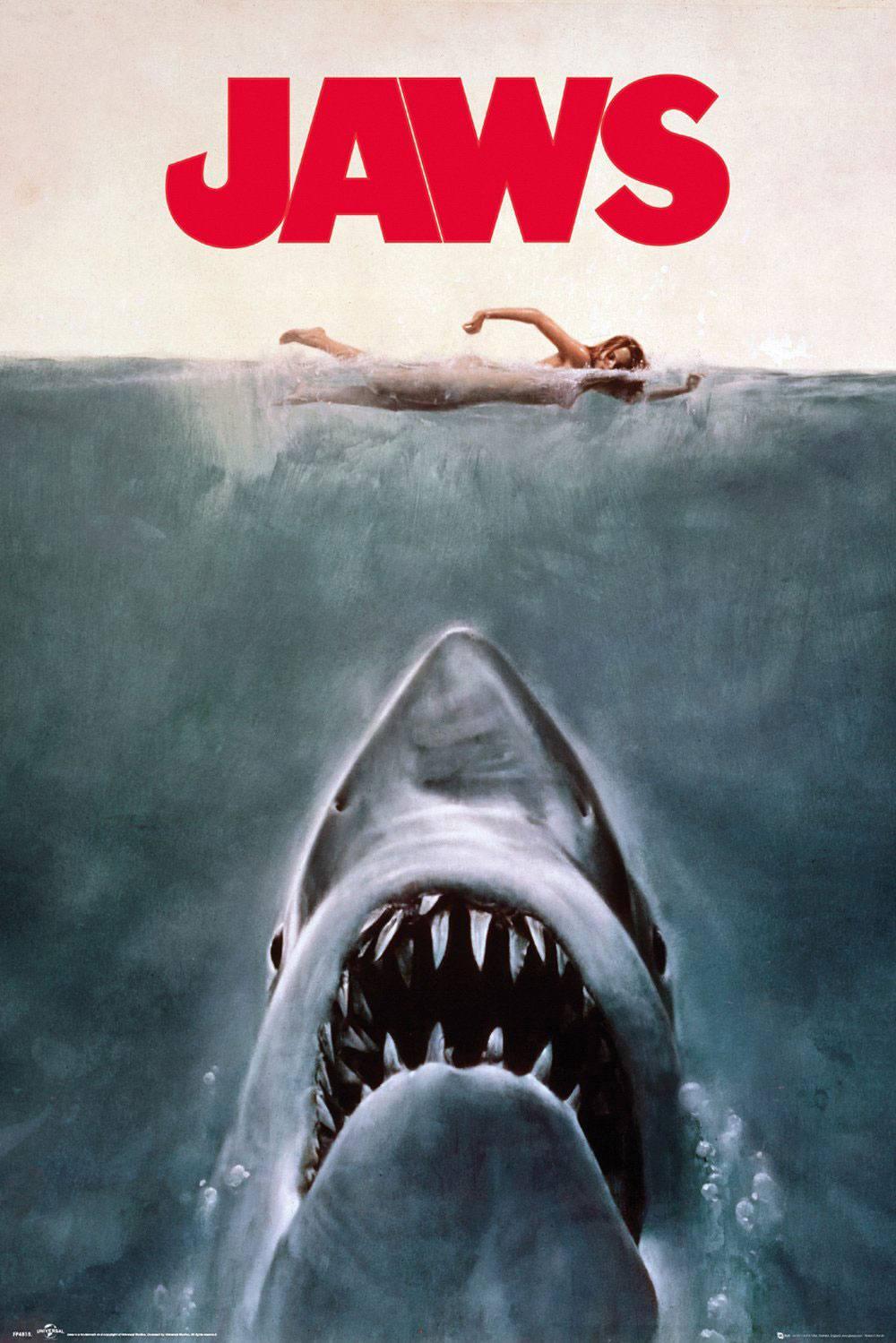 Jaws Poster Pack Key Art 61 x 91 cm (5)