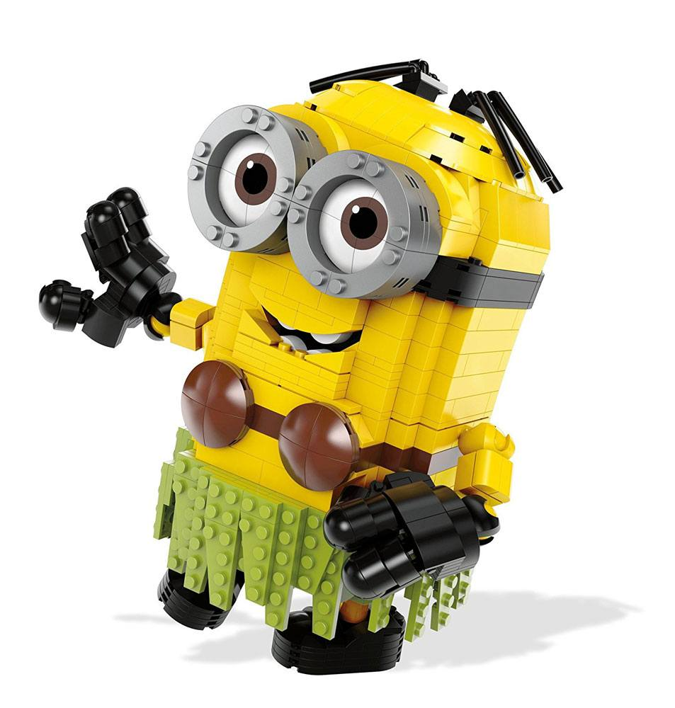 Despicable Me 3 Mega Construx Construction Set Build-A-Minion Hula Dave 23 cm