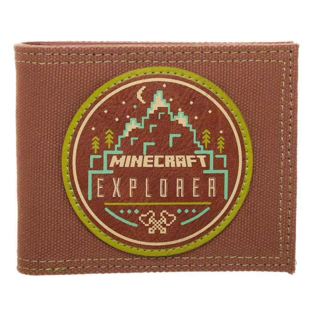Minecraft Bifold Wallet Minecraft Explorer