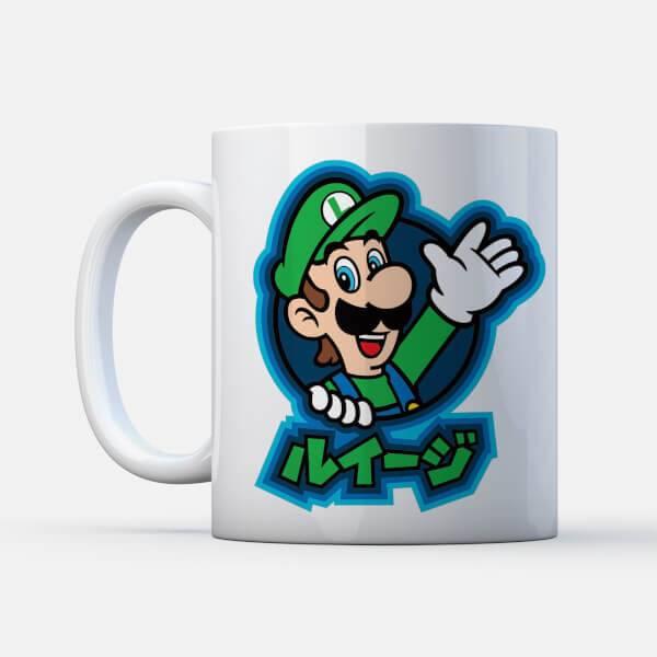 Nintendo Mug Luigi Kanji
