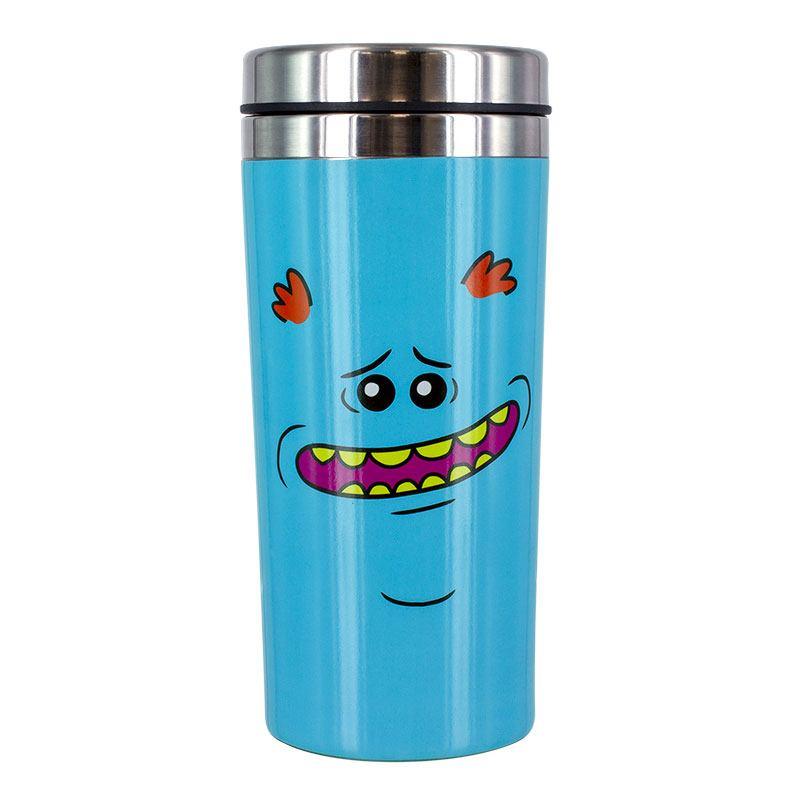 Rick & Morty Travel Mug Mr Meeseeks