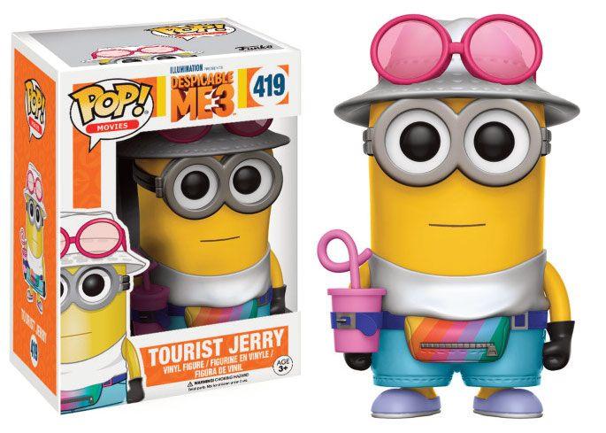 Despicable Me 3 POP! Movies Vinyl Figure Tourist Jerry 9 cm