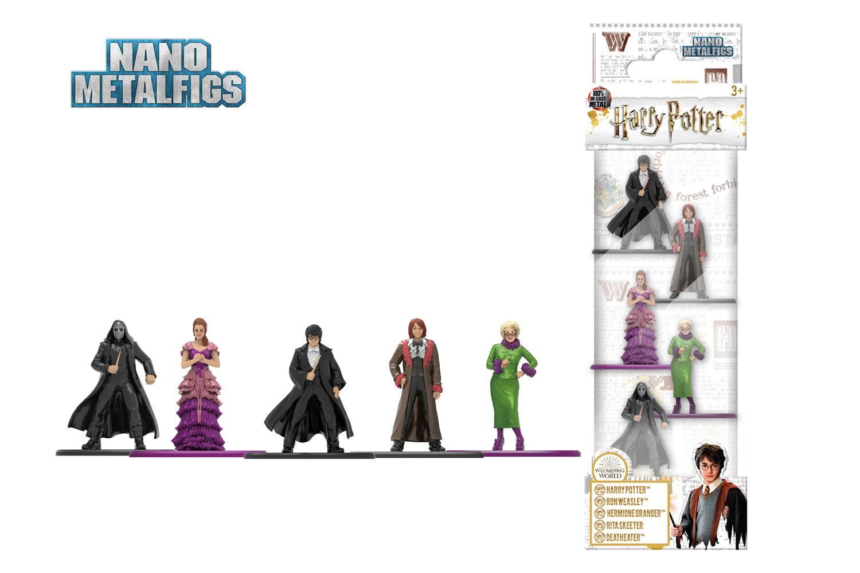 Harry Potter Nano Metalfigs Diecast Mini Figures 5-Pack Wave 3A 4 cm