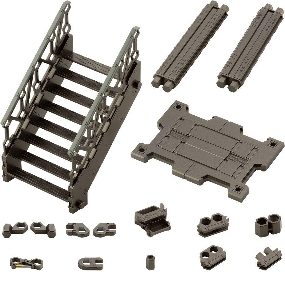 Hexa Gear Plastic Model Kit 1/24 Expansion Pack Block Base 03 Lift Option A 12 cm