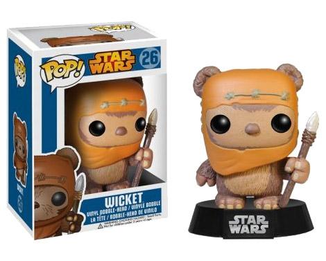 Star Wars POP! Vinyl Bobble-Head Wicket 10 cm