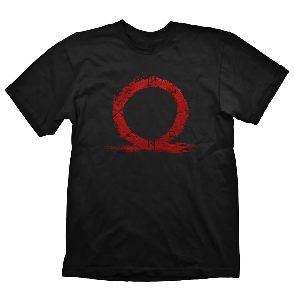 God of War T-Shirt Serpent Logo Size S