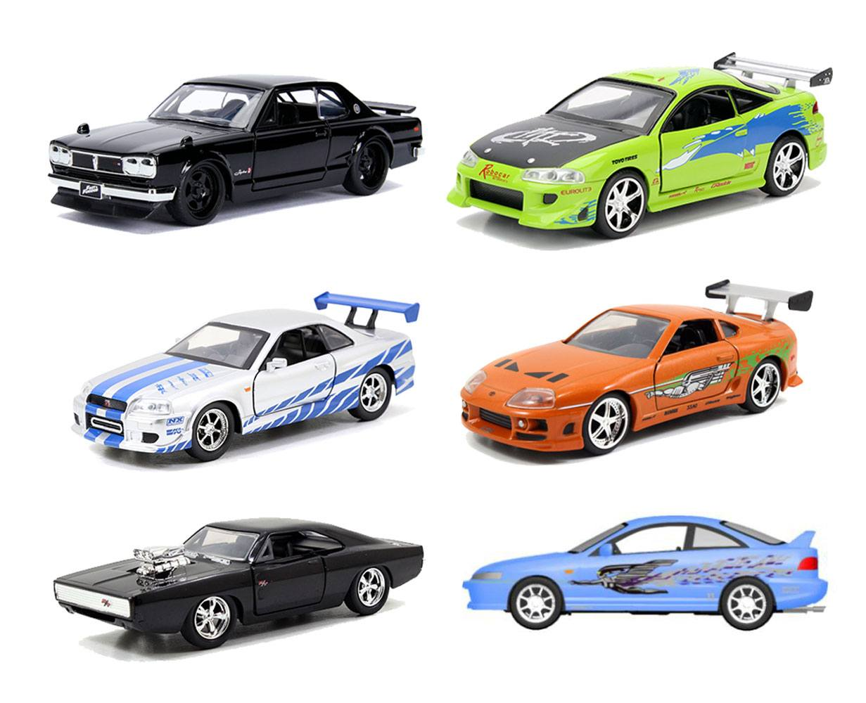 Fast & Furious Diecast Models 1/32 Display B (6)