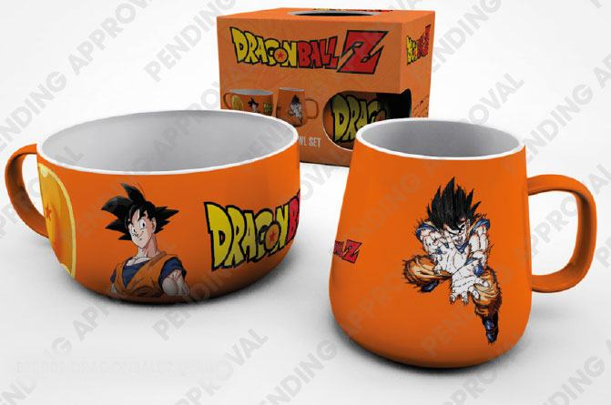 Dragonball Z Breakfast Set Goku