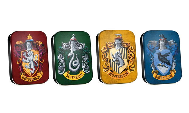Harry Potter Timeless Tins 4-Pack Houses
