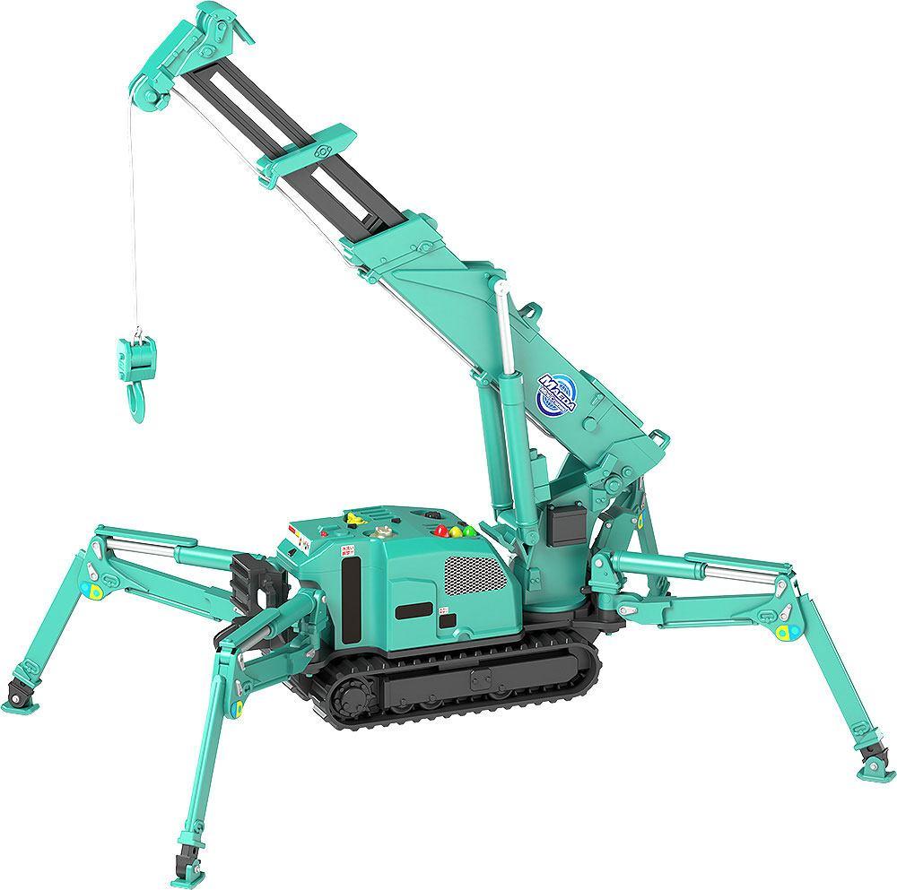 Maeda Seisakusho Moderoid Plastic Model Kit 1/20 Spider Crane (Green) 25 cm
