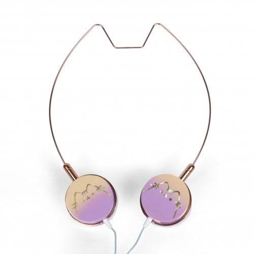 Pusheen Headphones Cat