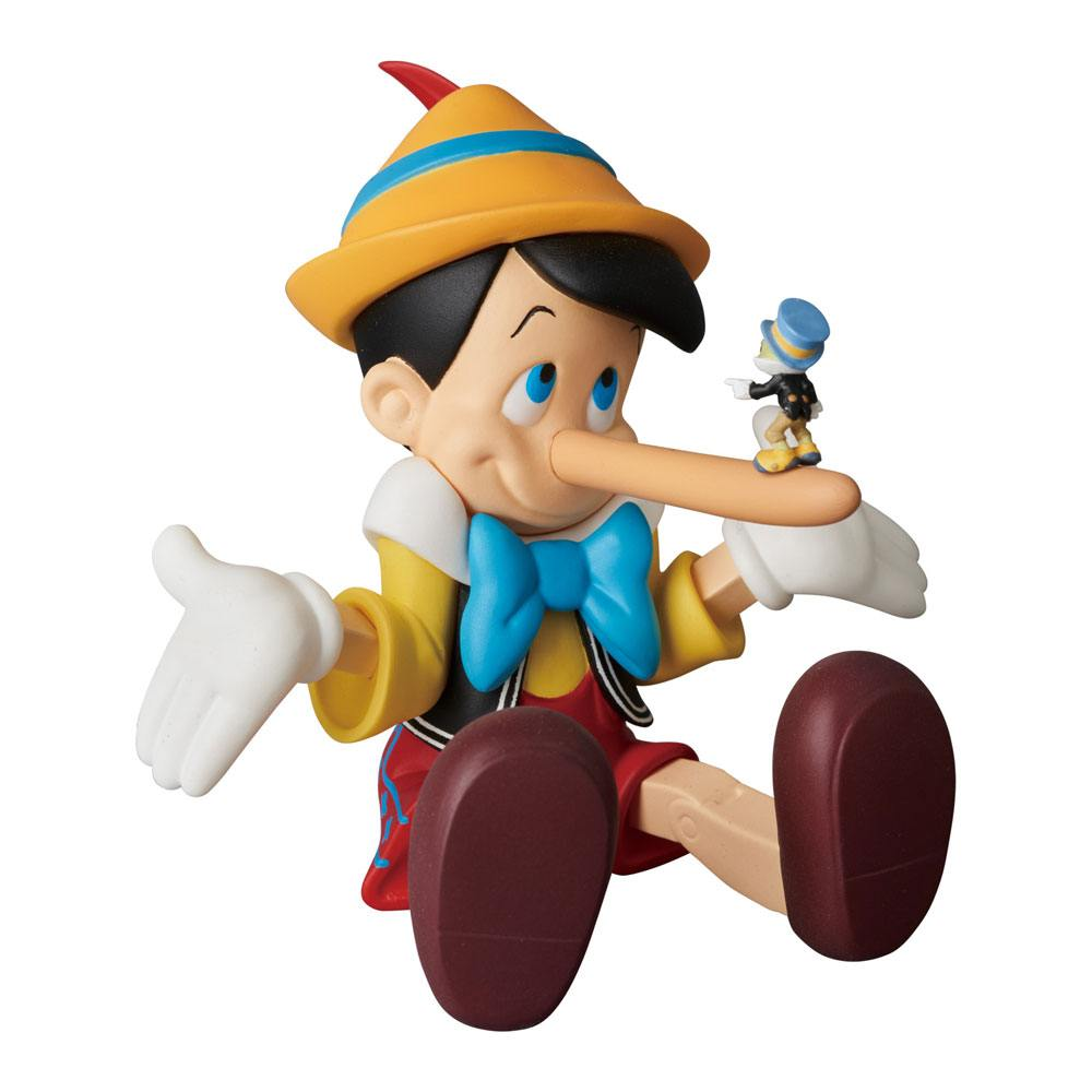 Pinocchio UDF Mini Figure Pinocchio Long Nose Ver. 6 cm