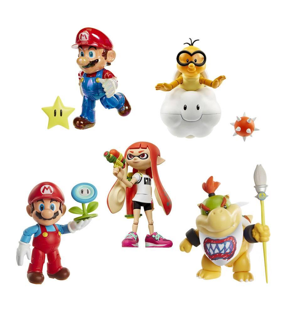 World of Nintendo Action Figures 10 cm Wave 10 Assortment (6)
