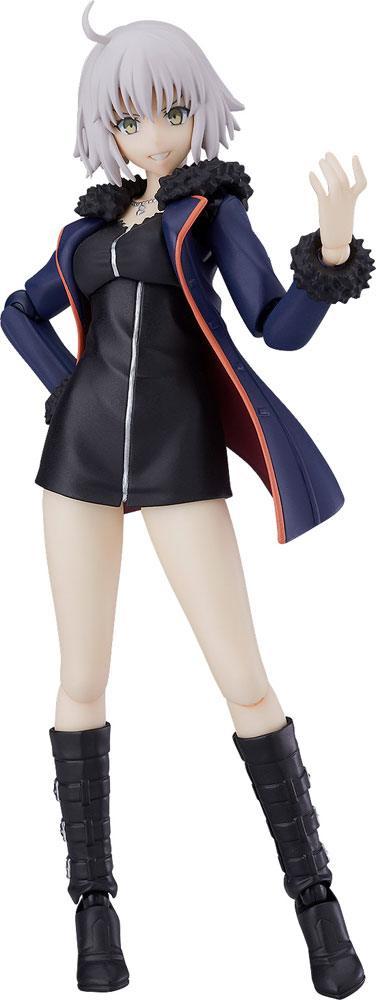 Fate/Grand Order Figma Action Figure Avenger/Jeanne d'Arc (Alter) Shinjuku Ver. 14 cm