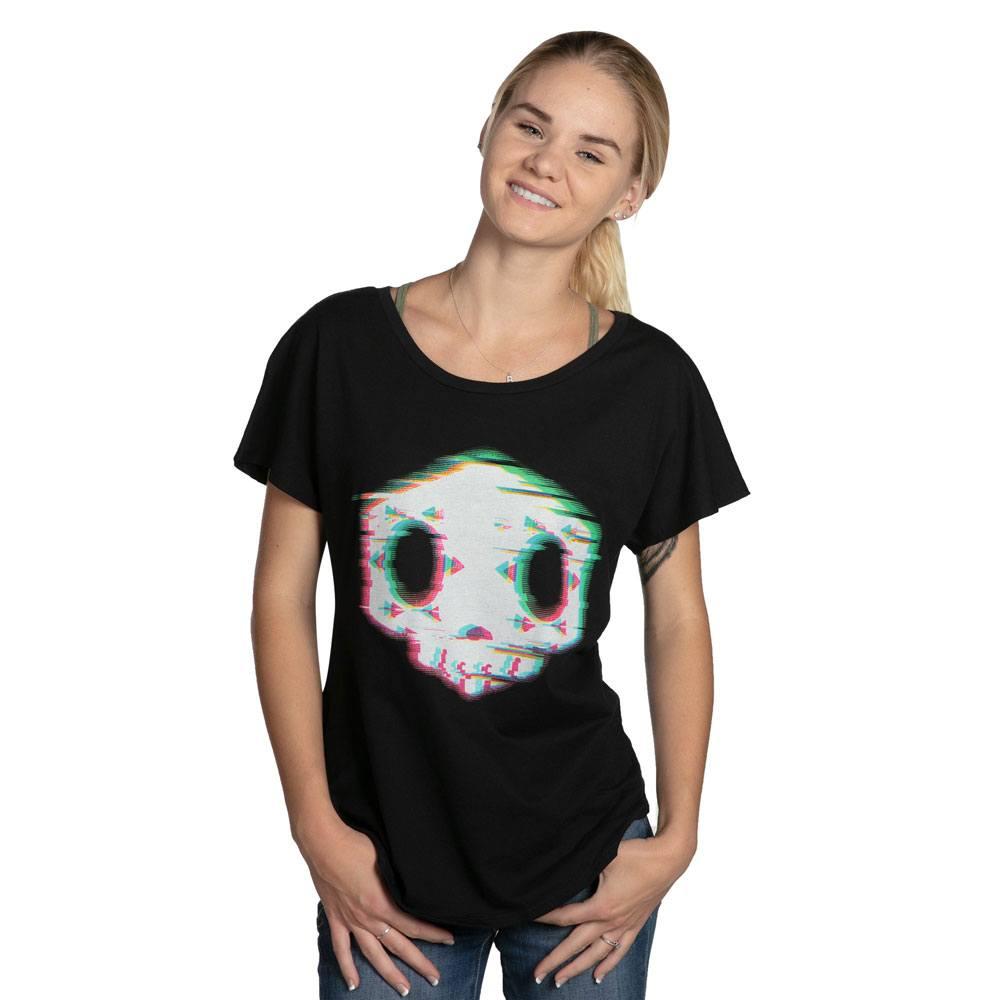 Overwatch Ladies T-Shirt Apagando Las Luces Size M