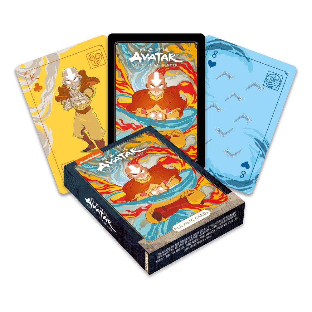 Avatar: The Last Airbender Playing Cards Avatar