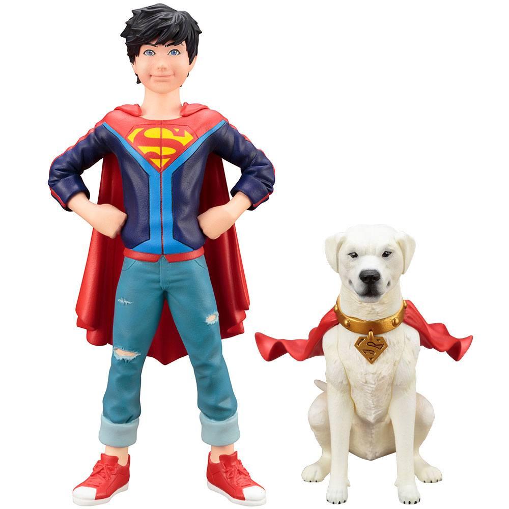 DC Comics ARTFX+ Statue 1/10 2-Pack Super Sons Jonathan Kent & Krypto 15 cm