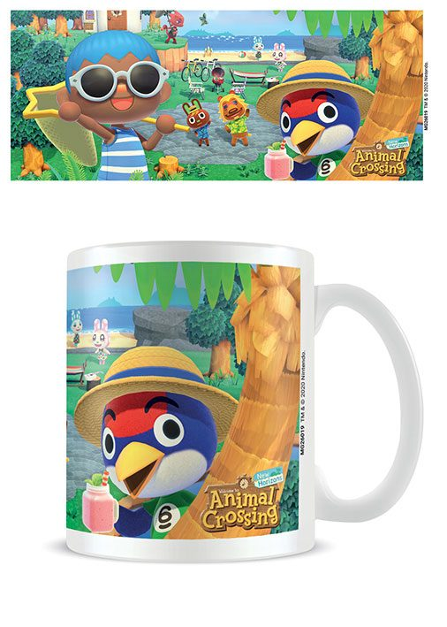 Animal Crossing Mug Summer