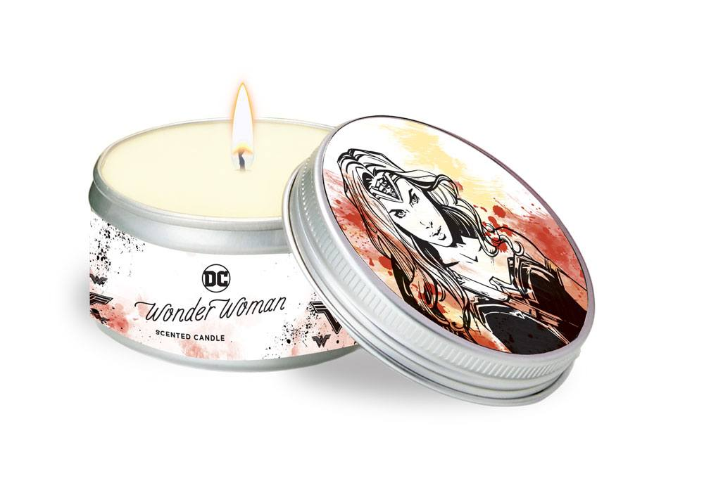 DC Comics Tin Candle Wonder Woman (5,6 oz. / 165 ml)